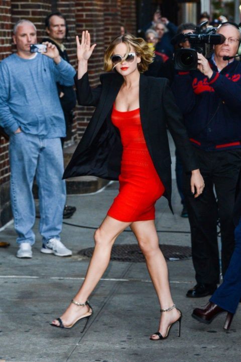 Jennifer Lawrence Late Show With David Letterman