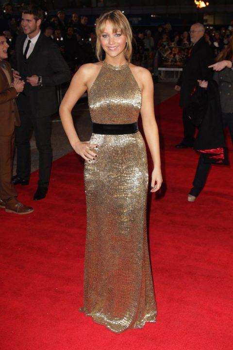 Jennifer Lawrence London Premier Hunger Games March 2012