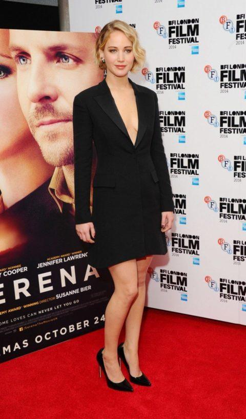 Jennifer Lawrence Lookbook Serena Premiere London Film Festival