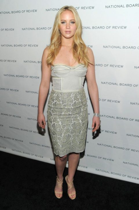 Jennifer Lawrence National Board of Motion Pictures Gala January 2011