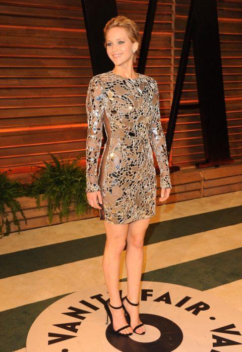 Jennifer Lawrence Oscars 2014 Afterparty Tom Ford