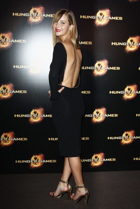 Jennifer Lawrence Paris Premiere Hunger Games