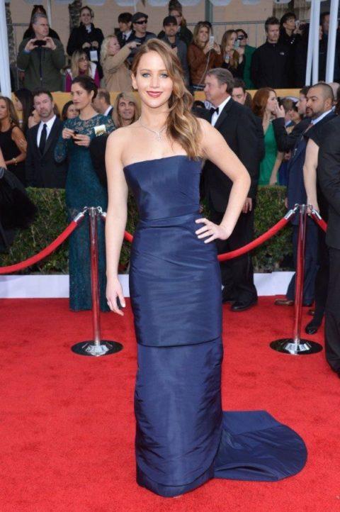 Jennifer Lawrence SAG Awards January 2013