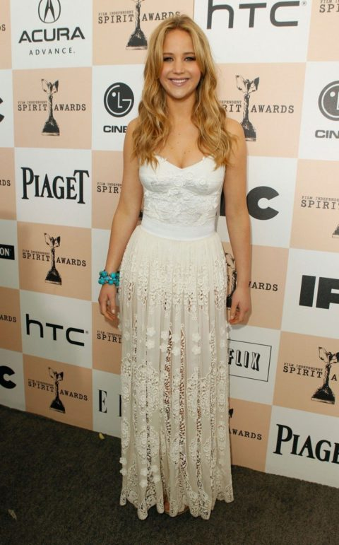 Jennifer Lawrence Santa Monica Film Awards February 2011