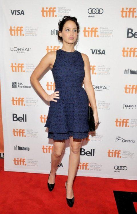 Jennifer Lawrence TIFF Premiere A Place Beyond The Pines