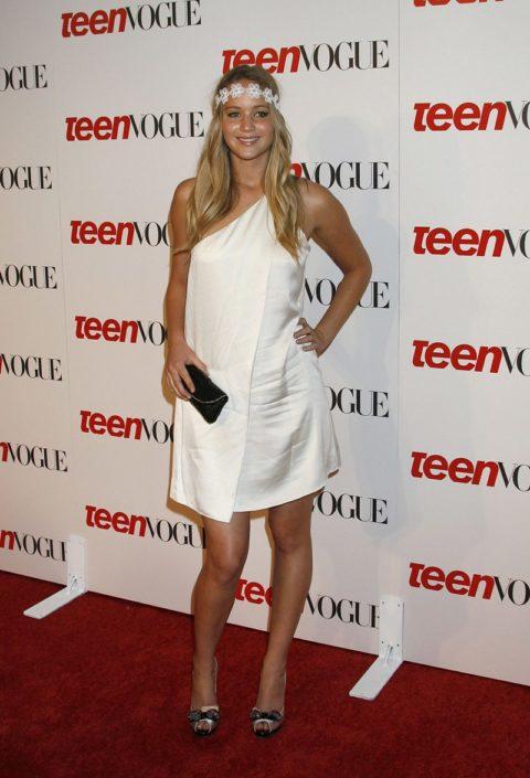 Jennifer Lawrence Teen Vogue Young Hollywood September 2008