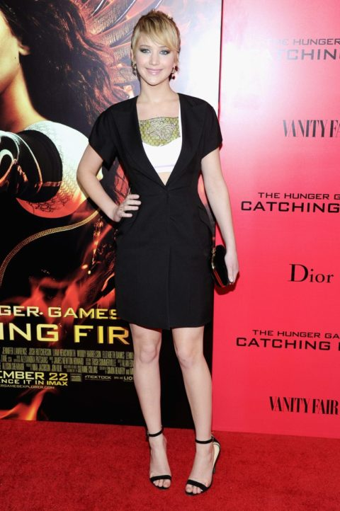 Jennifer Lawrence The Hunger Games Catching Fire New York Premiere