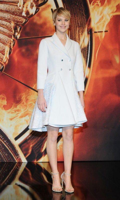 Jennifer Lawrence The Hunger Games Catching Fire Premier Berlin November 2013
