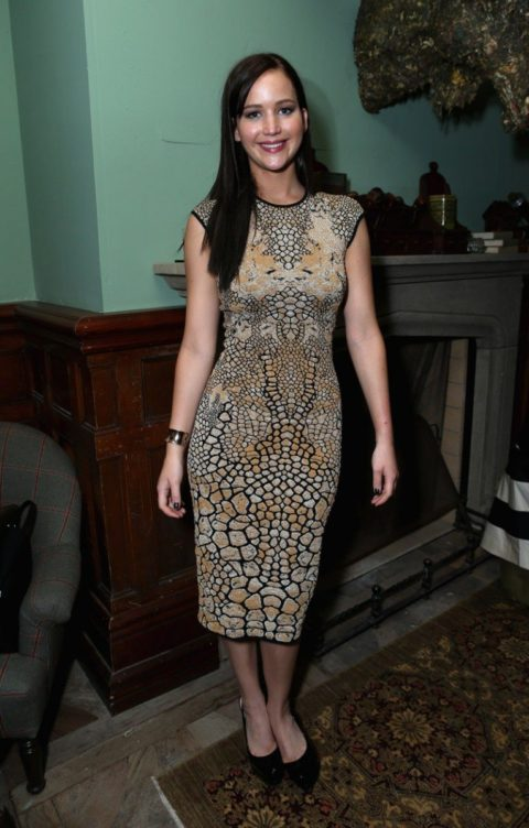 Jennifer Lawrence at Grey Goose party-for Silver Linings Playbook Soho House