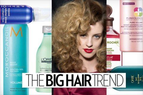 big hair trend