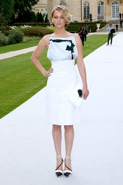 jennifer lawrence dior fall 2014-couture