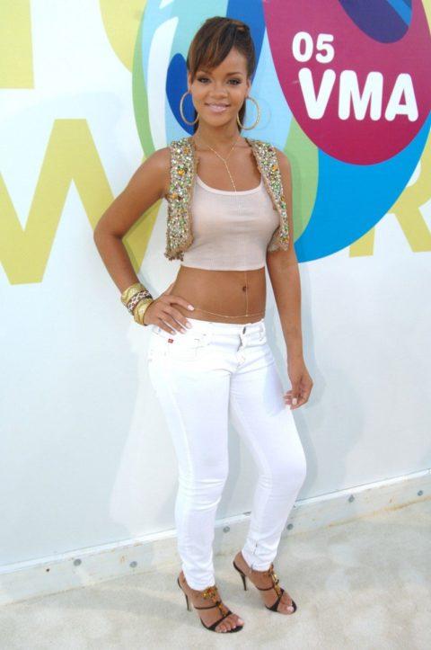 Rihanna 2005 MTV Video Music Awards