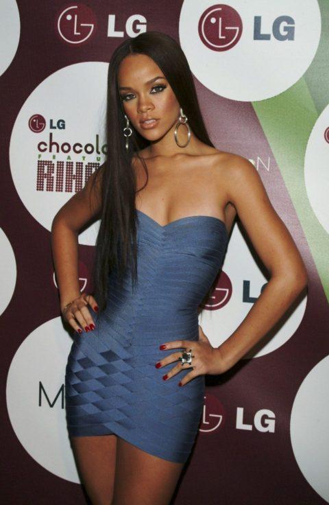 Rihanna LG Chocolate Party