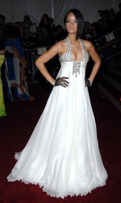 Rihanna 2007 Costume Institute Gala