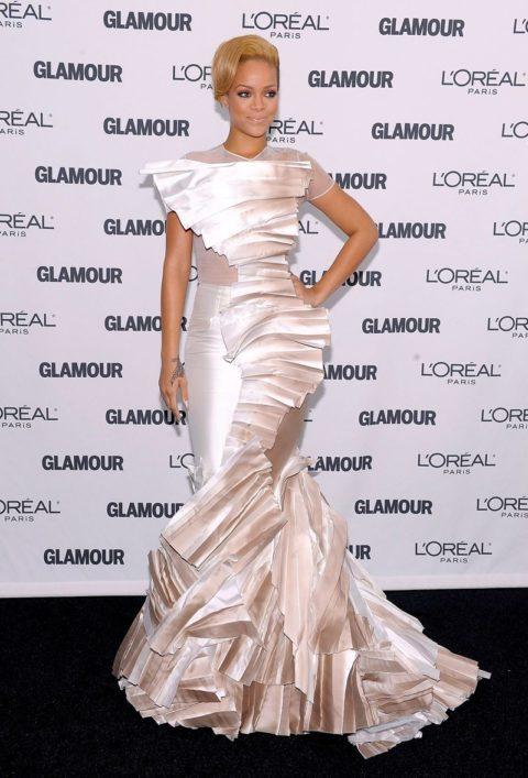 Rihanna Glamour Magazine 2009 Women of The Year