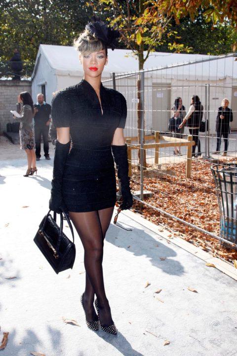 Rihanna Dior Spring 2010 Paris Fashion Week