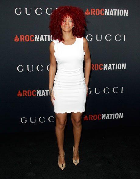 Rihanna Pre Grammy Brunch