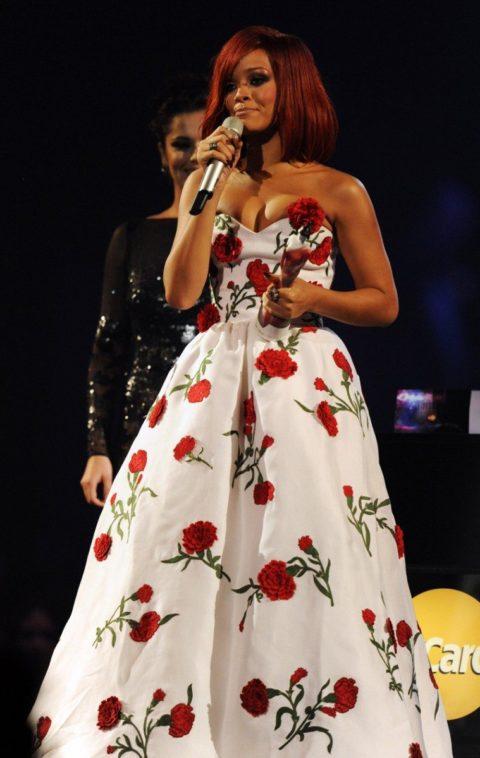 Rihanna 2011 BRIT Awards