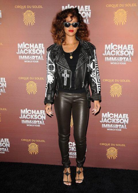 Rihanna Michael Jackson The Immortal World Tour