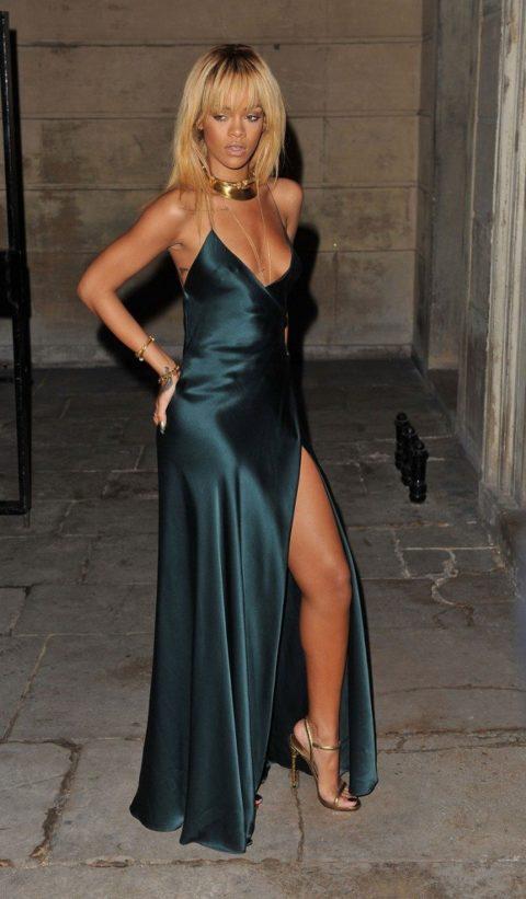 Rihanna Stella McCartney Fall 2012 show