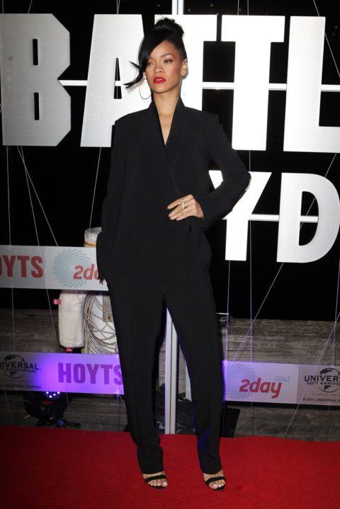 Rihanna Battleship Australian Premiere