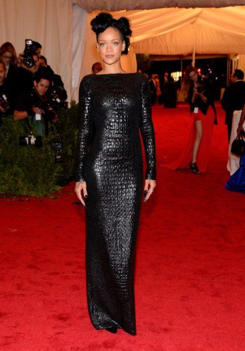 Rihanna 2012 MET Ball