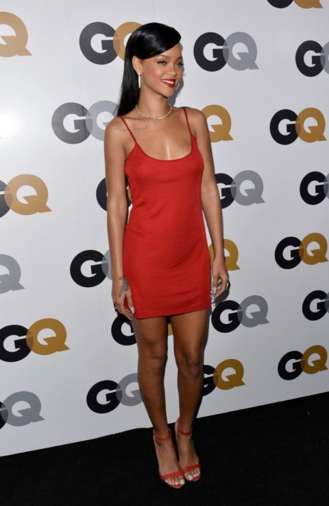 Rihanna GQ Men Of The Year Party