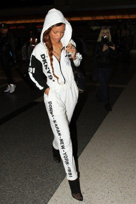 Rihanna DKNY for Opening Ceremony