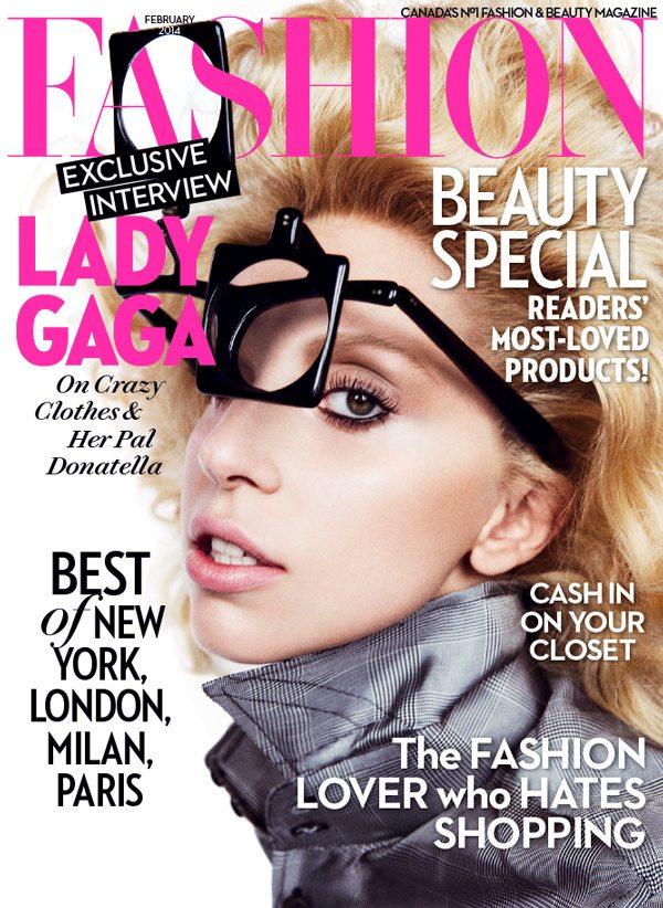 Fashion Magazine February 2014 Lady Gaga