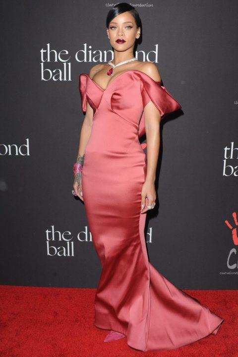 Rihanna Diamond Ball Zac Posen