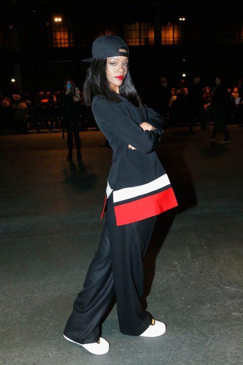 Rihanna Fall 2014 Fashion Show Paris