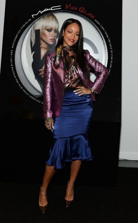 Rihanna Viva Glam Launch Soho