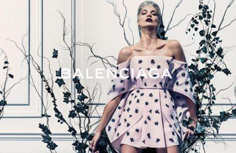 Balenciaga Daria Werbowy Spring 2014 Campaign