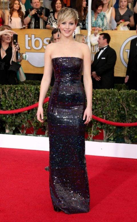 SAG Awards 2014 Jennifer Lawrence