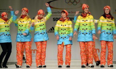 Sochi 2014 Team Uniforms Germany