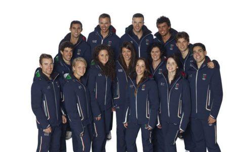 Sochi 2014 Team Uniforms Italy