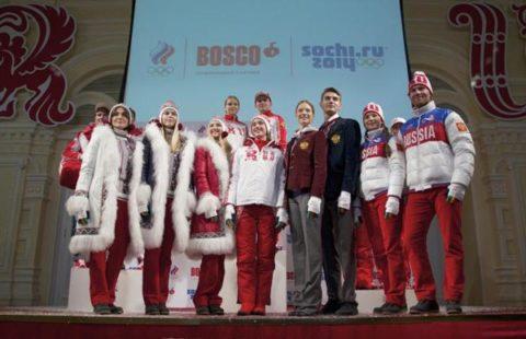 Sochi 2014 Team Uniforms Russia