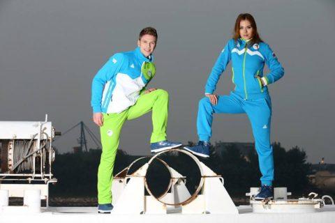 Sochi 2014 Team Uniforms Slovenia