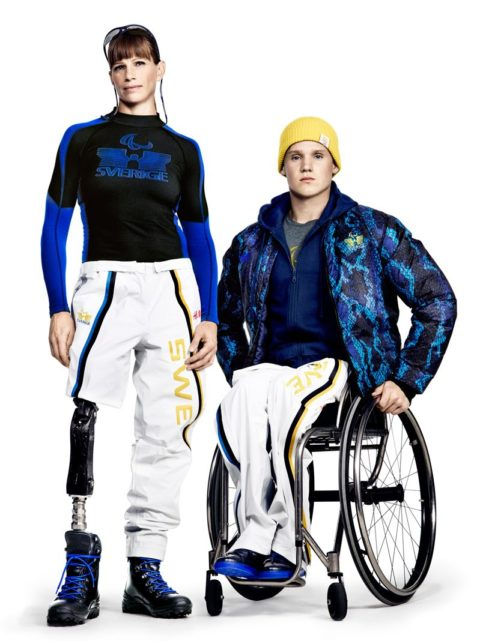 Sochi 2014 Uniforms Team Sweden