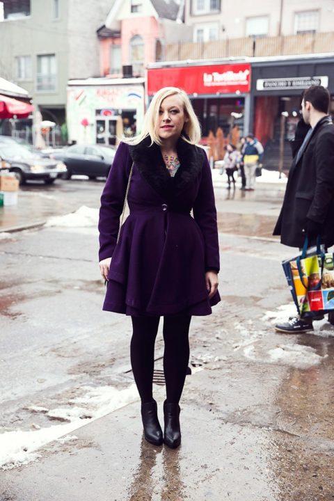 Street Style Toronto Winter 007