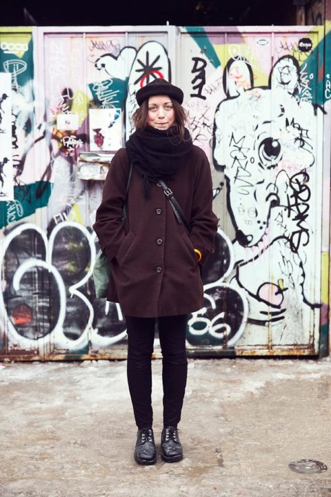 Street Style Toronto Winter 009