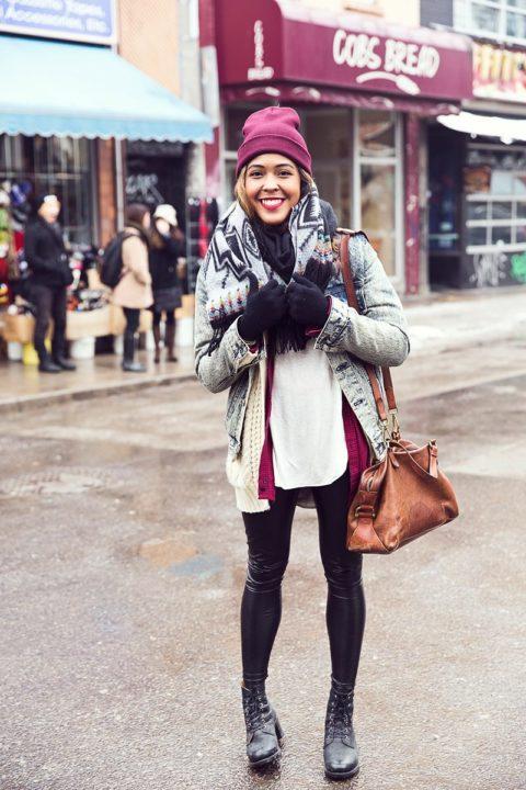 Street Style Toronto Winter 010