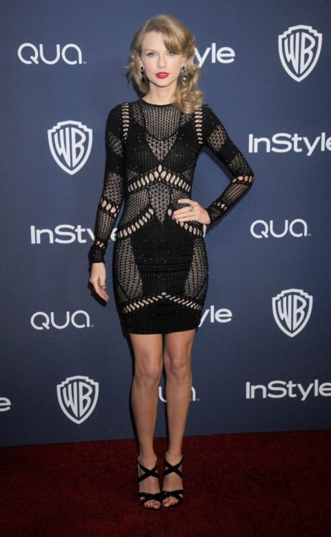 Taylor Swift Golden Globes After Party