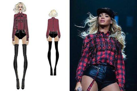 Beyonce Mrs Carter European Tour Givenchy