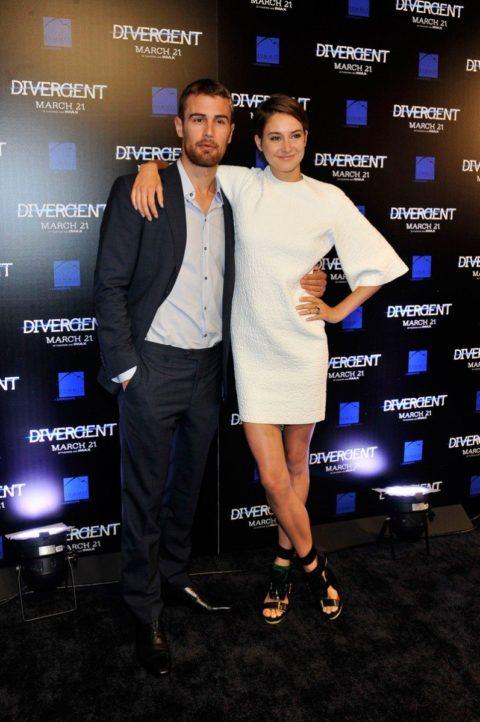 Shailene Woodley Divergent Atlanta Screening