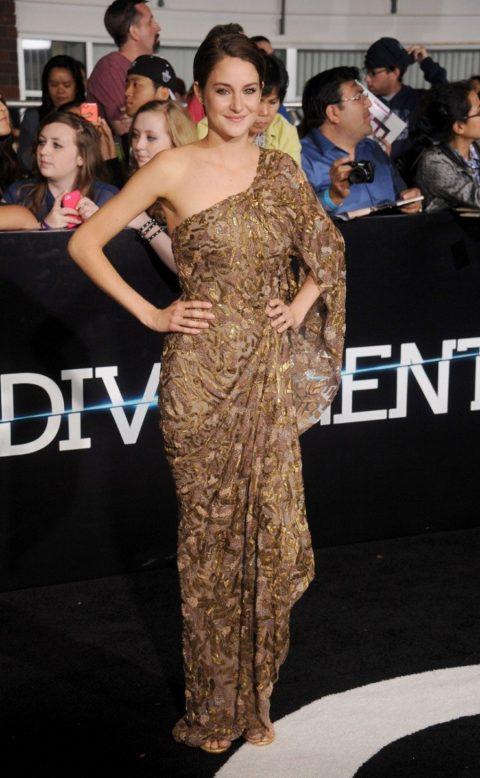 Shailene Woodley Divergent Los Angeles Premiere