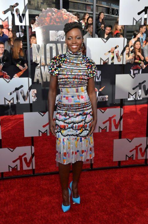 MTV Movie Awards 2014 Lupita Nyongo