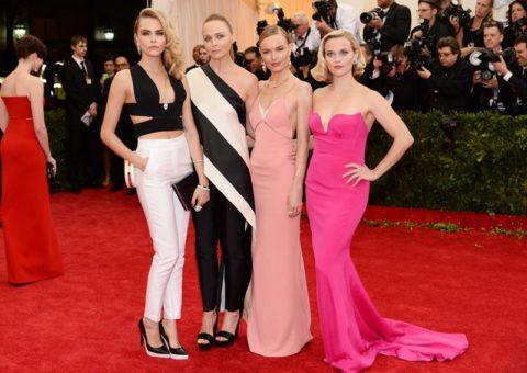 Met Gala 2014 Cara Delevignge Stella McCartney Kate Bosworth Reese Witherspoon