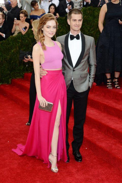 Met Gala 2014 Emma Stone Andrew Garfield