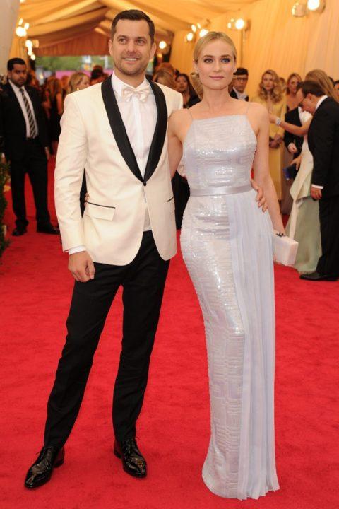 Met Gala 2014 Joshua Jackson Diane Kruger